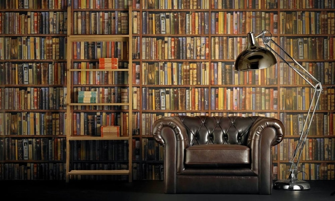 Andrew Martin Library Wallpaper