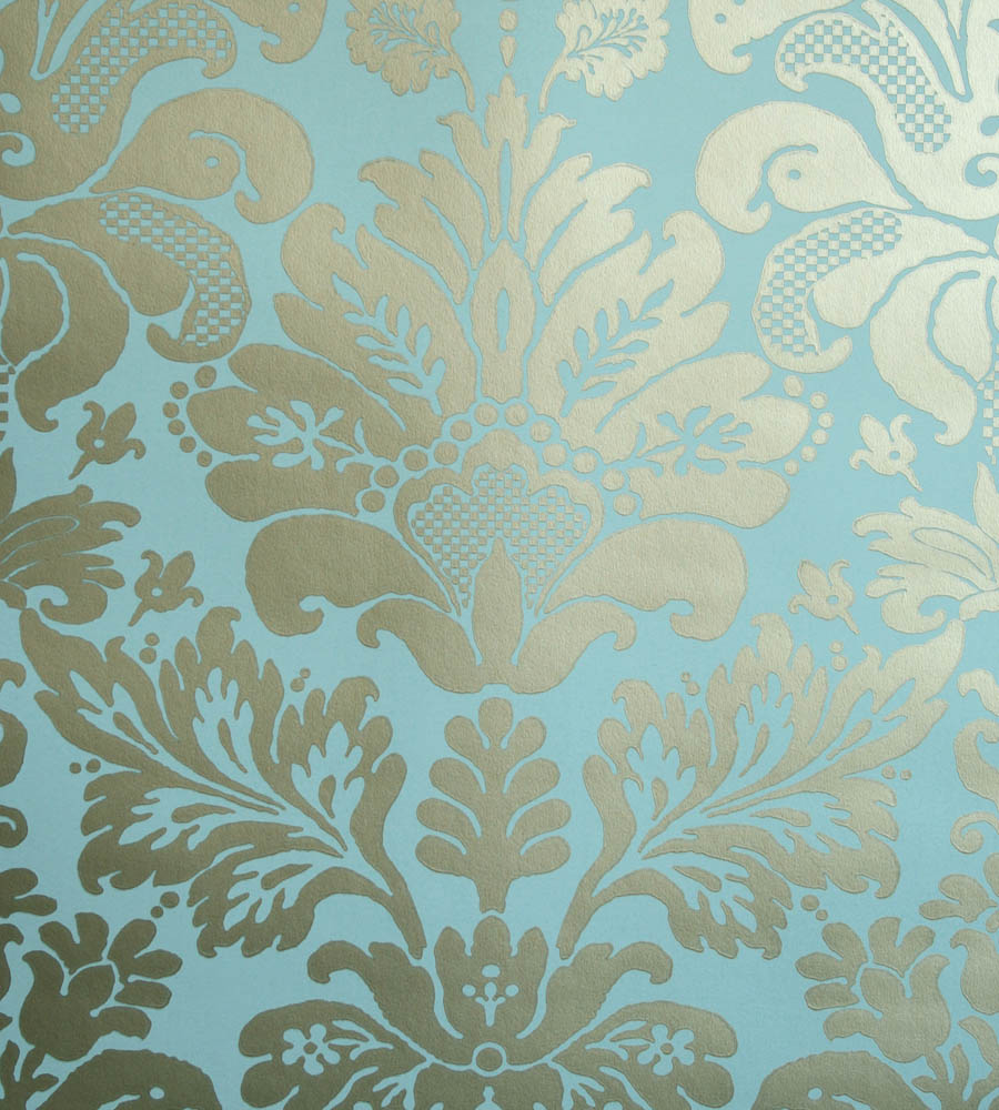 Damask Wall Paper nina campbell - campbell damask wallpaper