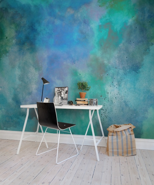 Rebel walls colour clouds mural for Cloud wallpaper mural