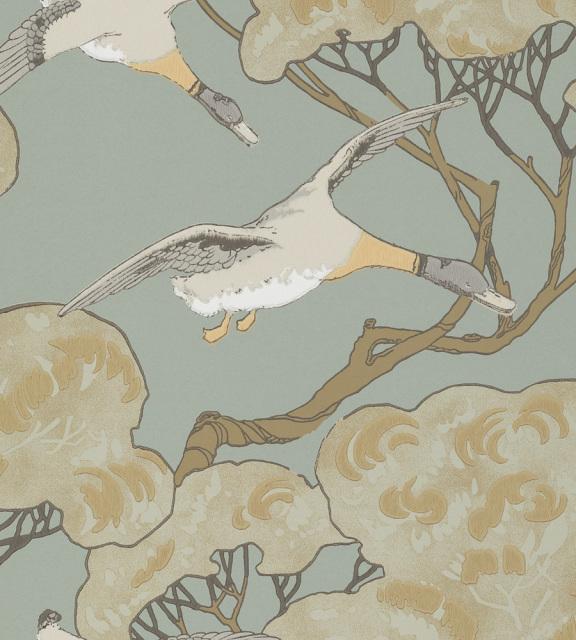 Mulberry Home Flying Ducks Wallpaper