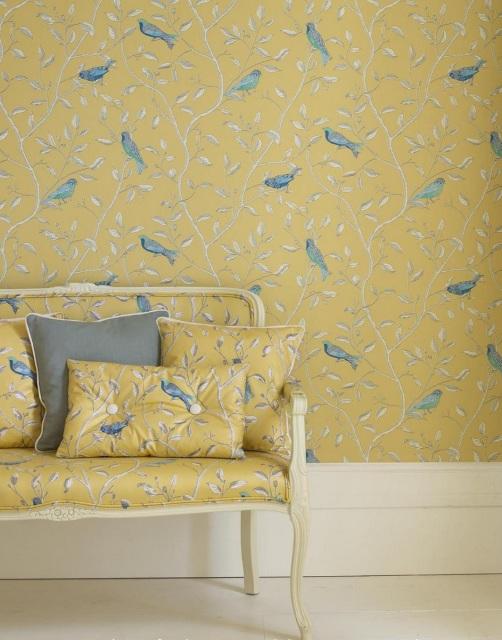 Sanderson - Finches Wallpaper