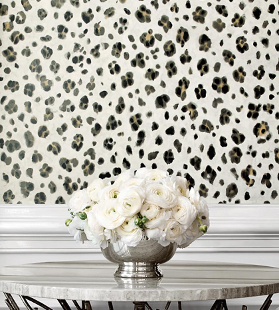 Thibaut Fabrics And Wallpapers: Panthera Wallpaper