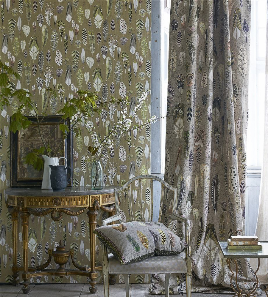 wall paper designers.  Designers Guild Quill Wallpaper